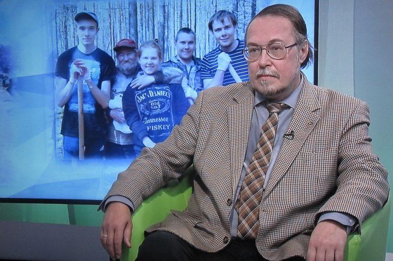 Д.и.н. И.Л.Жеребцов рассказал о своем наставнике на телеканале «Юрган»