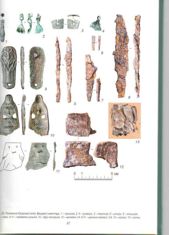 Вышла книга А.М.Мурыгина из серии «Поселение Югорская сопка. Древности городецкого озера»