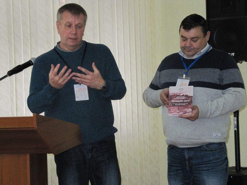 В.И.Меньковский и М. Шмигель презентуют новую книгу