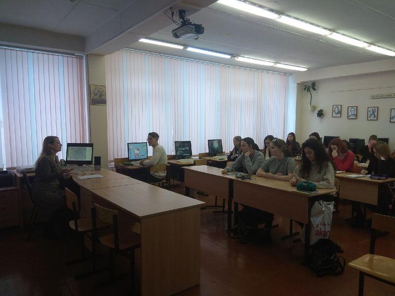 Сотрудник ИЯЛИ Д.В.Вишнякова познакомила студентов педколледжа с демографической историей Усть-Сысольска