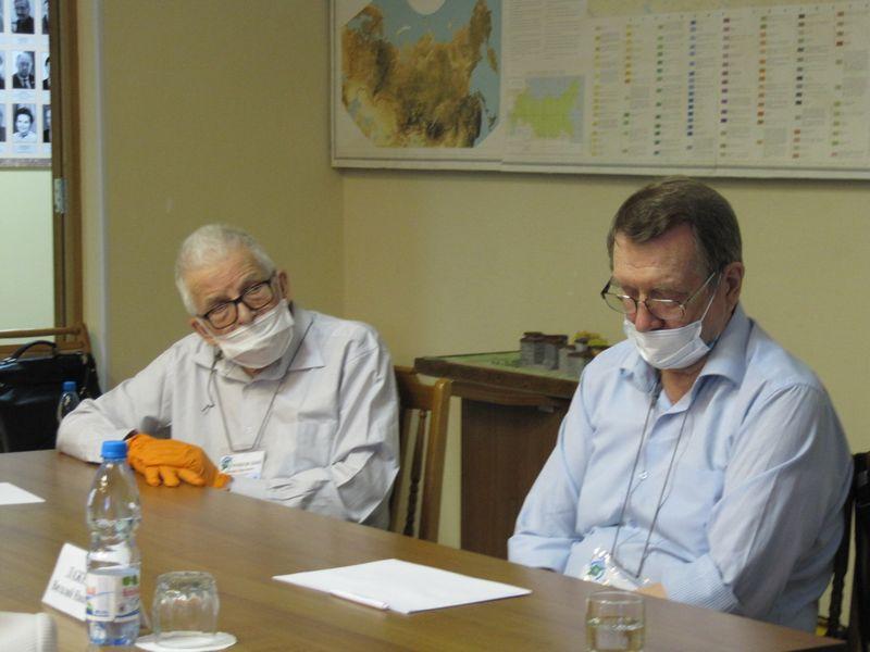 Встреча Врио Главы Республики Коми В.В.Уйба с учеными ФИЦ Коми НЦ УрО РАН