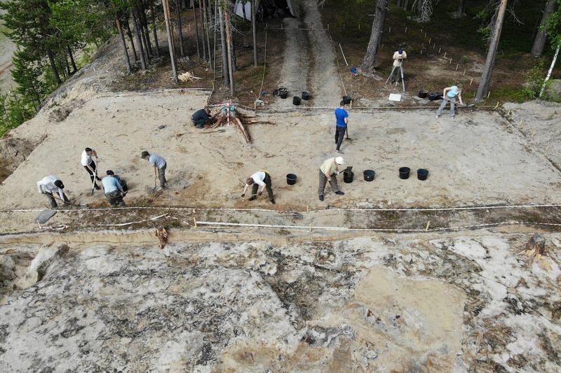 Новые открытия археологов ИЯЛИ в Печорском районе