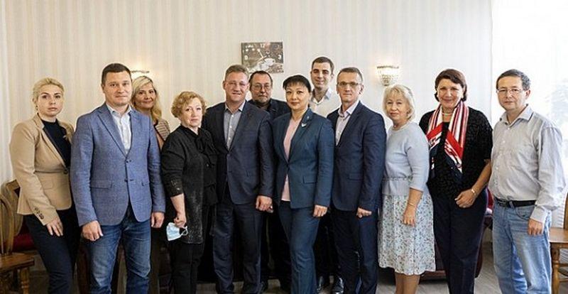 Встреча членов Общественного совета Сыктывкара с руководителями города