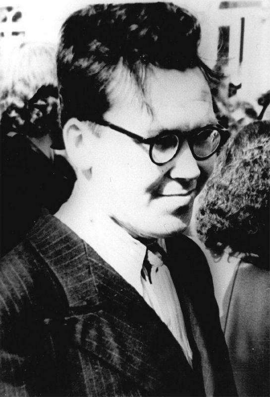 Л.Н. Жеребцов. 1950е гг.