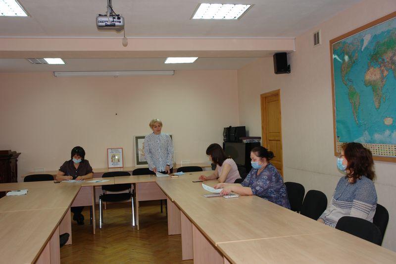 Заседание первичной профсоюзной организации ИЯЛИ