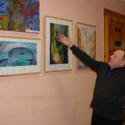 В ИЯЛИ открылась выставка работ школы-студии «Радужка»