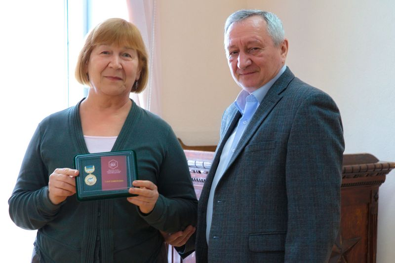 Награждение сотрудников Института ЯЛИ
